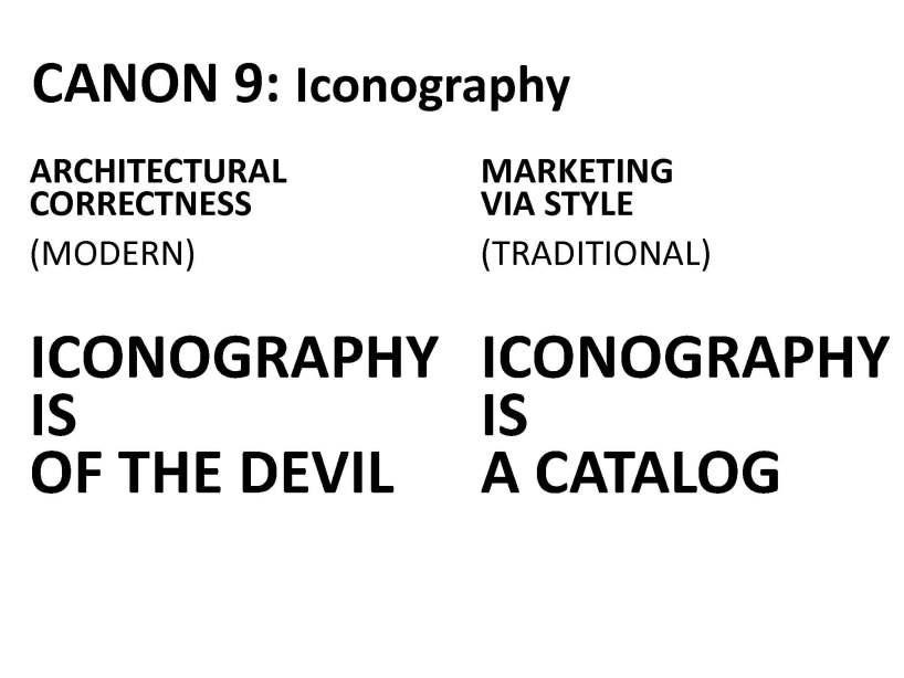 Canon 9 Iconography